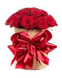 Red Rose Gift Box. Omsk